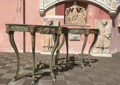 Restauration-Consoles-en-bois-sculpte-polychrome-Villa-Ephrussi-(18)