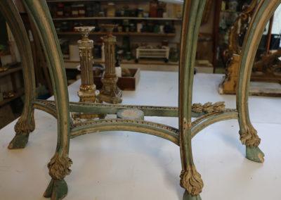 Restauration-Consoles-en-bois-sculpte-polychrome-Villa-Ephrussi-(7)