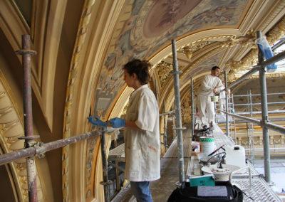 Restauration-Peintures-sur-toile-et-dorures-les-deux-Salle-Touzet-Casino-Monte-Carlo-(2)