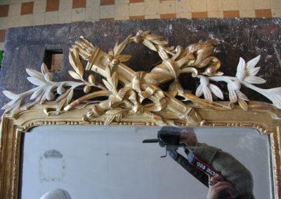 Restauration-cadre-bois-doré-avec-miroire-Nice-(1)