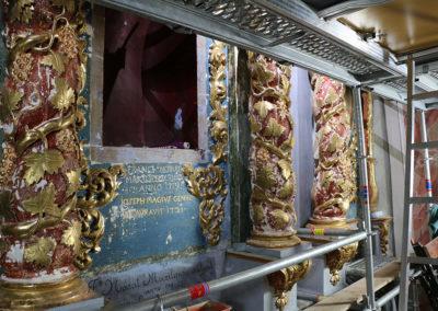Retable-Eglise-Notre-Dame-de-l'Assomption-Tourrette-Levens-Travaille-afresco-et-pose-de-feuille-d'or-Restauration-(15)
