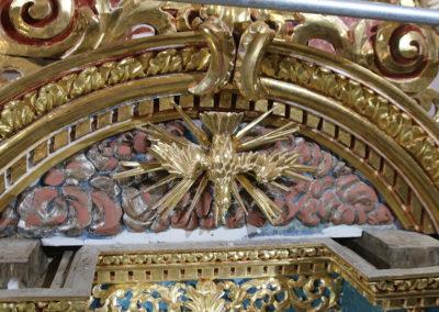 Retable-Eglise-Notre-Dame-de-l'Assomption-Tourrette-Levens-Travaille-afresco-et-pose-de-feuille-d'or-Restauration-(17)