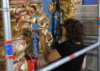 Retable-Eglise-Notre-Dame-de-l'Assomption-Tourrette-Levens-Travaille-de-Reintegration-peinture-Restauration-(20)