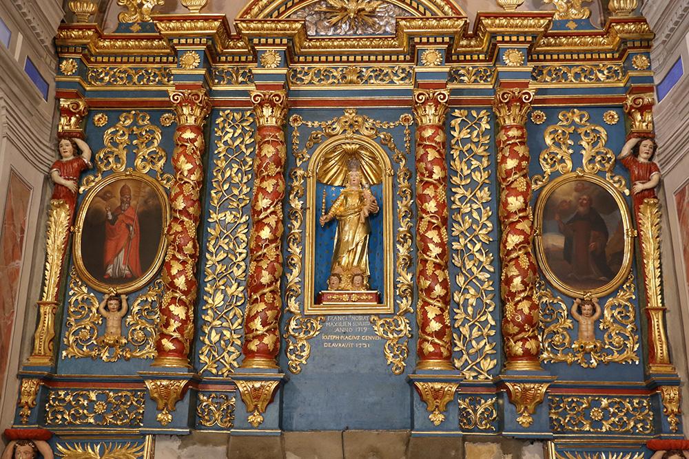RETABLE du Maître-Autel Église Notre Dame de l'Assomption Tourrette Levens
