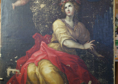 Tableau-Sainte-Cécile,-XVIIème-attribué-à-Van-Loo-(15)