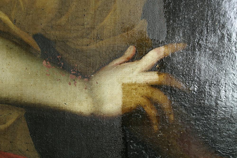 Sainte Cécile, XVIIème attribué à Van Loo Église TOURRETTE LEVENS