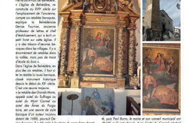Belvédère – Le retour du retable des Grands Morts en l'église Saint-Pierre-Saint-Paul