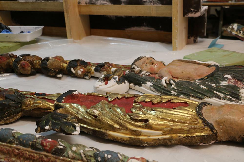 Retable des Grand Morts 1686